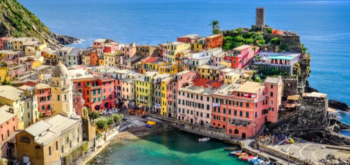 Los 10 pueblos de Italia más bonitos. Riomaggiore
