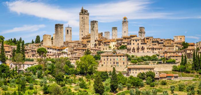 Los 10 pueblos de Italia más bonitos. San Gimignano