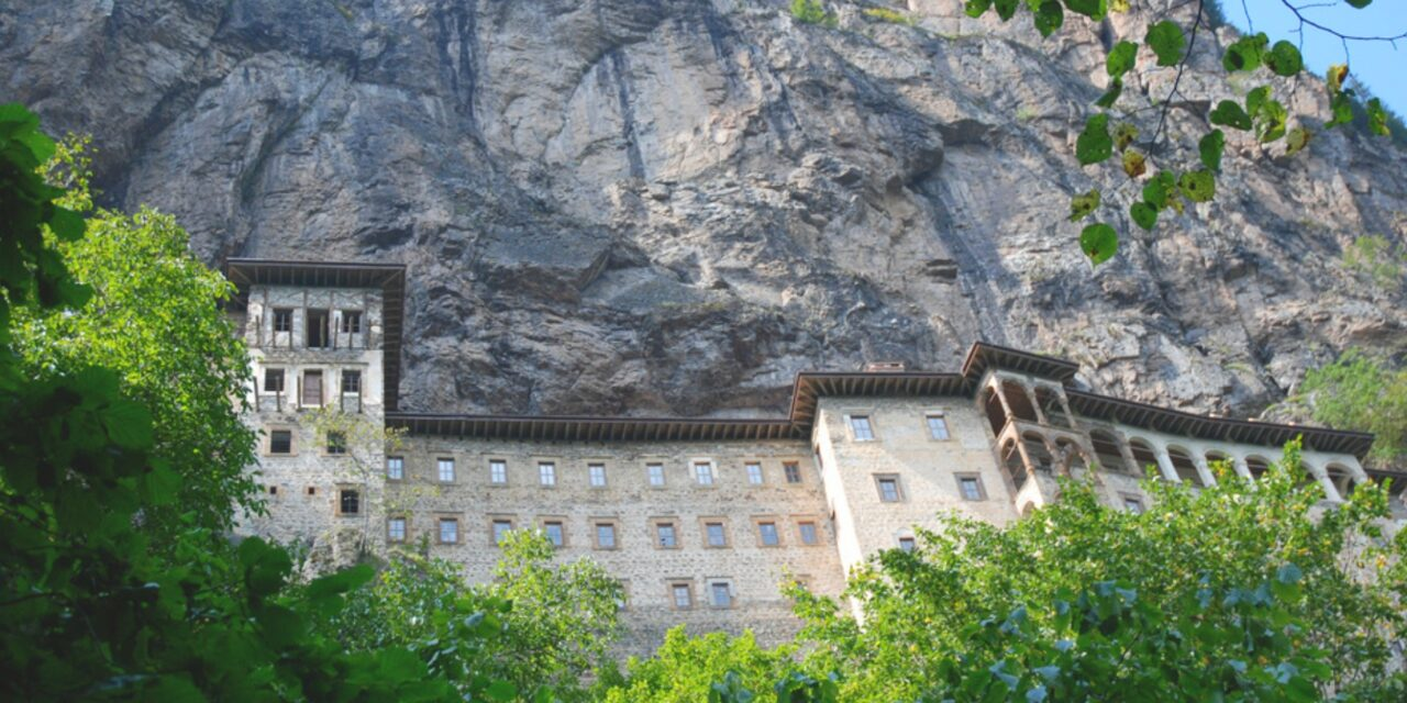 El monasterio colgante de Sumela, en Turquía