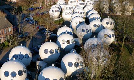 Bolwoningen, un barrio futurista