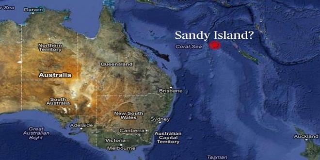isla de sandy isla fantasma