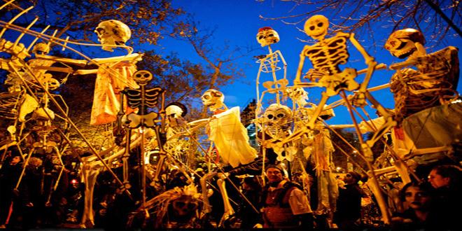 La noche de Halloween en Nueva York