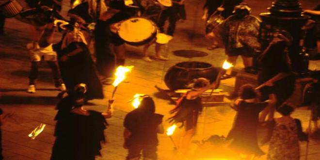 El pueblo embrujado de Galicia celebra Halloween