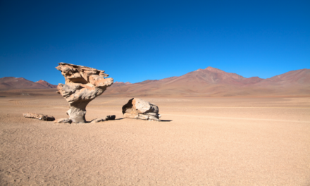El desierto de Siloli, paraíso natural
