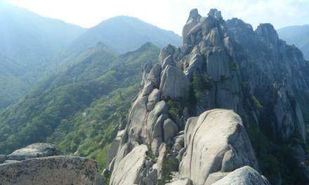 El mágico Parque Nacional Seoraksan, en Corea del Sur