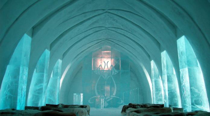 El magnífico Icehotel, el primer hotel de hielo del mundo