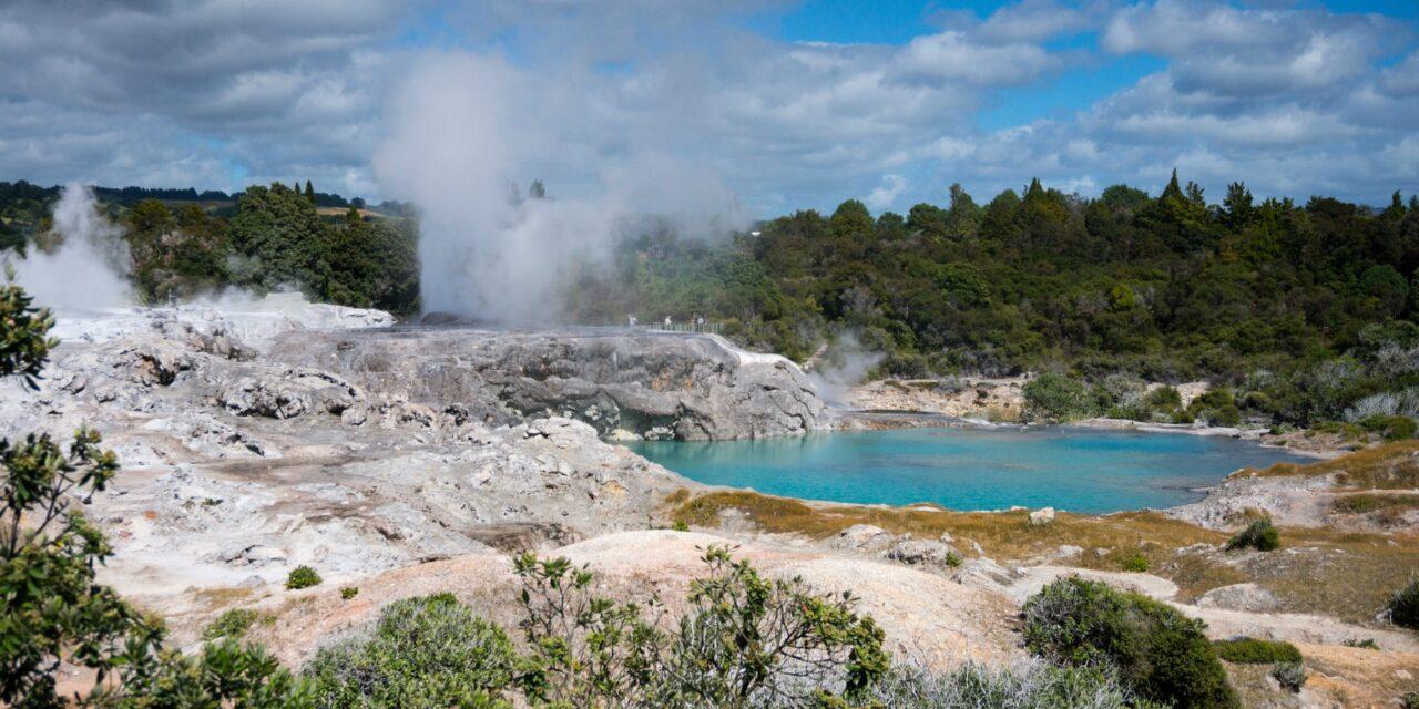Mágica Rotorua, en Nueva Zelanda… ¿Vienes a ver géisers?