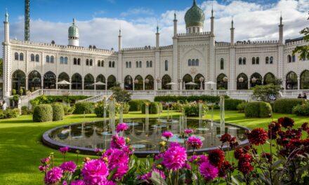 Los mágicos Jardines de Tivoli, en Dinamarca