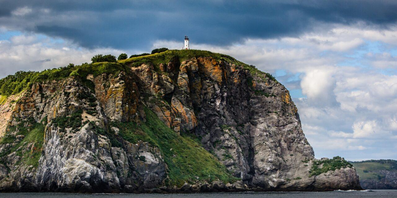 Los barcos de piedra pómez en Kamchatka