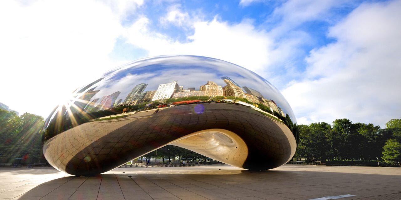 Cloud Gate, la alubia gigante de Chicago