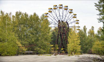 Pripyat, ciudad contaminada de Ucrania