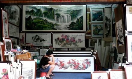 Dafen, el pueblo de las copias artísticas