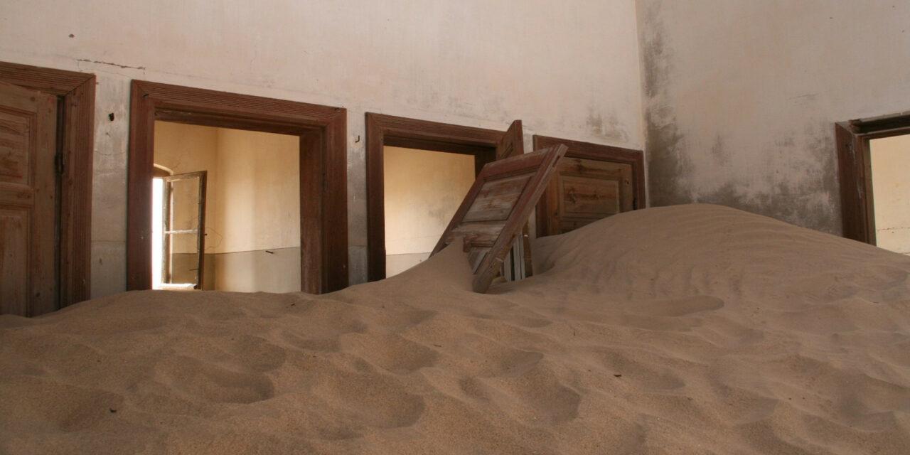 Kolmanskop, el pueblo de arena