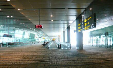 Changui, el aeropuerto con cataratas