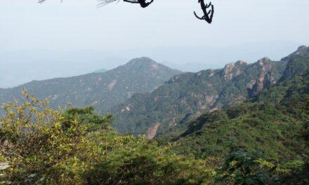 El Monte Sanqing, una maravilla en China