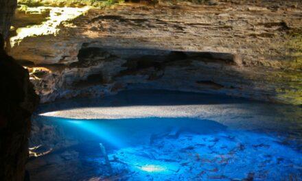 Poço Azul, la cueva invisible de Brasil