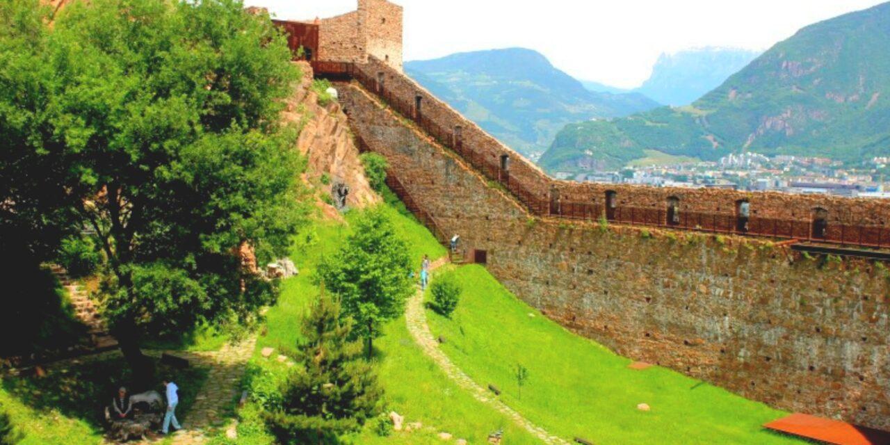Los cuatro Castillos de Bolzano, en Italia