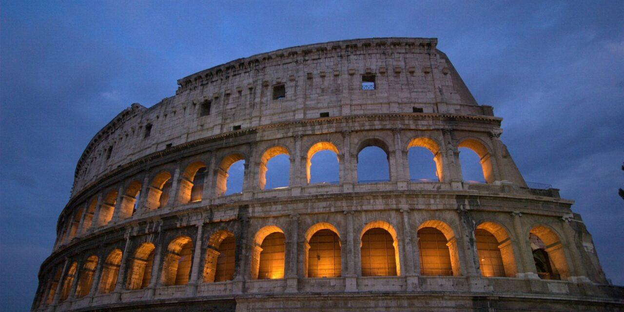 Coliseo Romano, una maravilla moderna