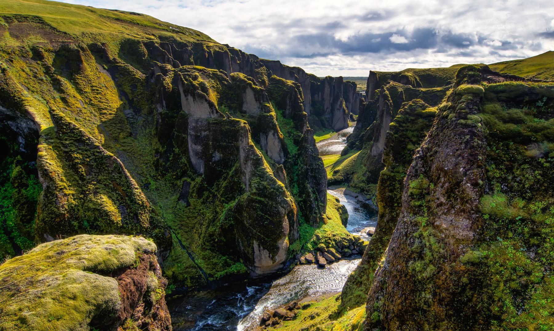 Resultado de imagen para Cañón Fjaðrárgljúfur, Islandia