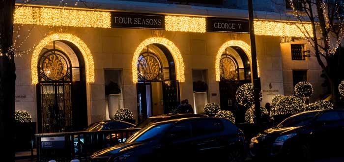 Hoteles más caros del mundo: Four Seasons George V, Francia