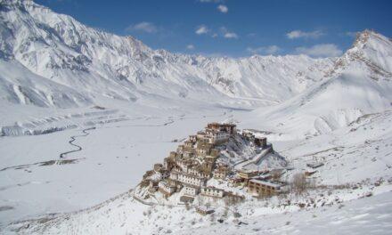El espiritual Monasterio Key, en la India