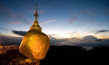 Kyaikto, la roca dorada de Myanmar