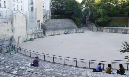 Un anfiteatro romano en París