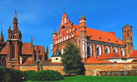 Vilna, la ciudad más monumental de Lituania