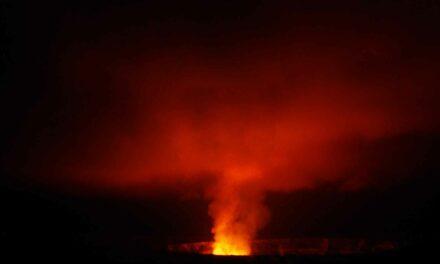 El impactante Parque Nacional de Volcanes, en Hawai