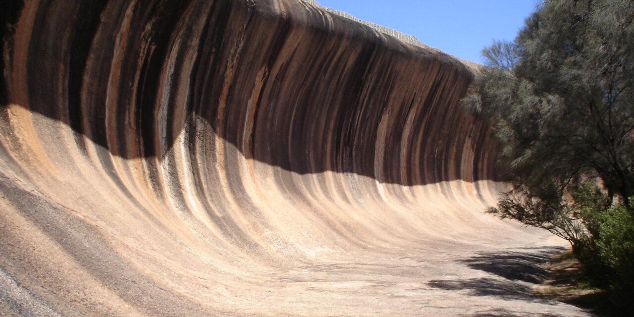 Wave Rock, la ola de piedra australiana