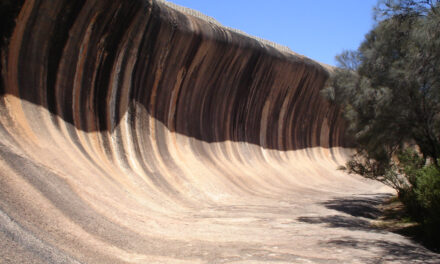 Wave Rock, la ola de piedra australiana