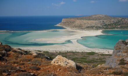 Balos, aguas turquesas en Creta