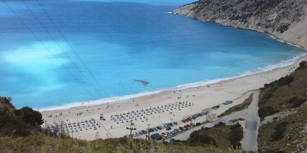 Myrtos, la mejor playa de Grecia