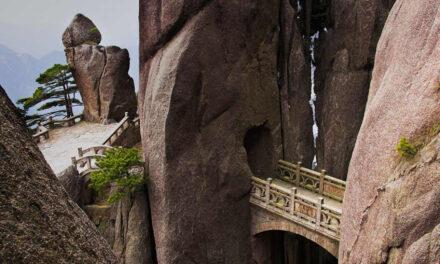 El puente de los inmortales, Huangshan