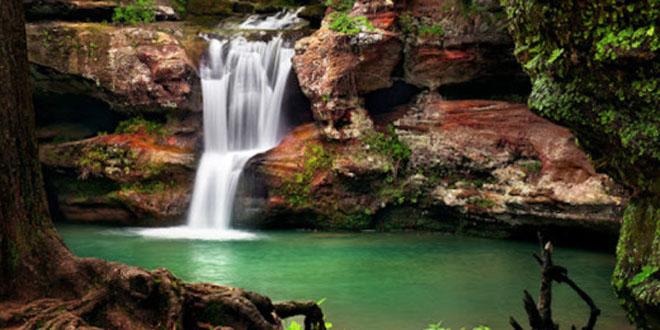 las cascadas de Corkscrew1