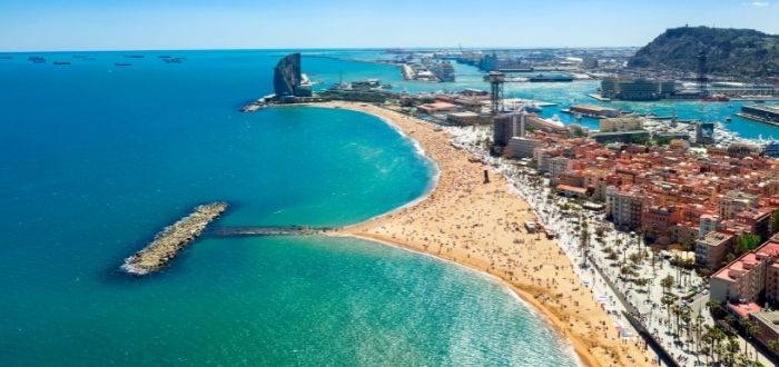 Playa de la Barceloneta, Barcelona (Cataluña) | Playas de España
