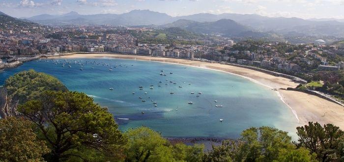 Playa de la Concha, San Sebastián (País Vasco)