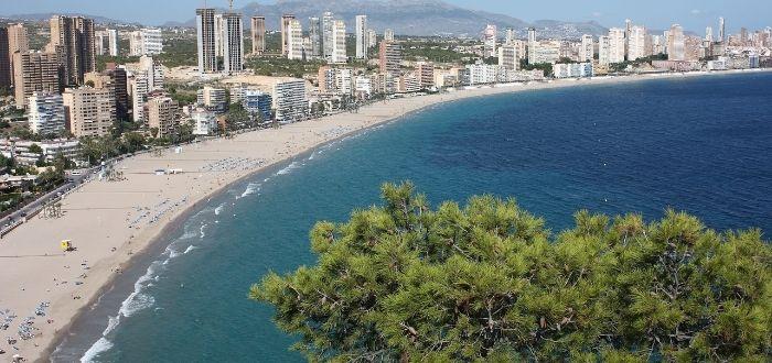 Playa de Poniente, Benidorm (Valencia) | Playas de España