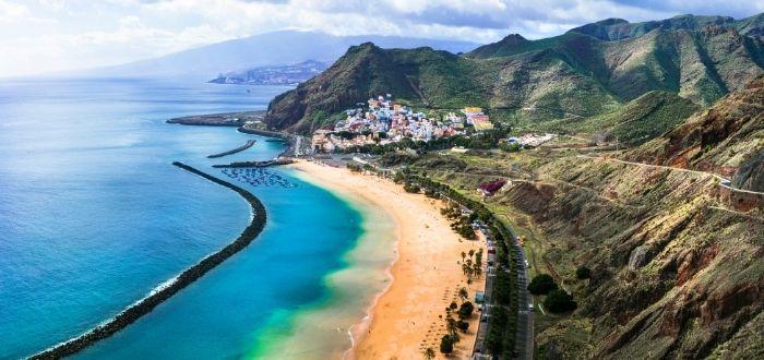 Playa de Las Teresitas, Santa Cruz de Tenerife (Tenerife, Canarias)