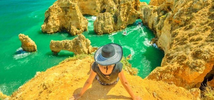 Atardecer en la joya de Algarve