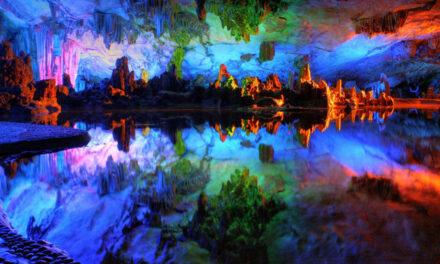 Cueva Reed Flute, un palacio de arte
