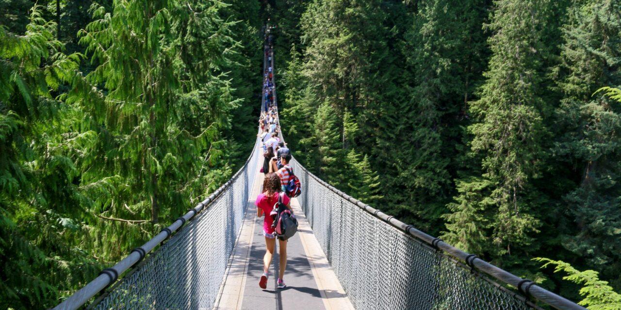 El Puente colgante de Capilano, para amantes de las alturas