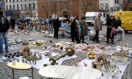 El mercado de La Place du Jeu de Balle. ¡Imperdible!