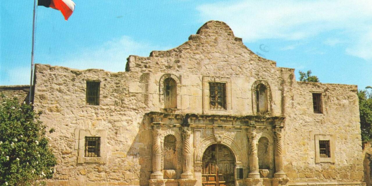 El histórico Álamo, en Texas