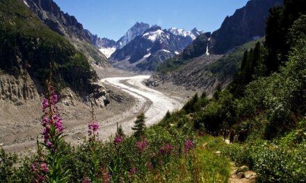 """El magnífico glaciar """"La Mer de Glace"""""""