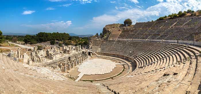 Qué ver en Éfeso: Teatro romano