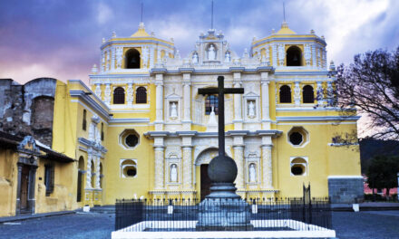 La Merced en Antigua, Guatemala