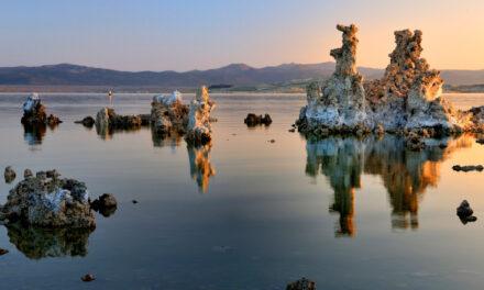 Lago Mono, el espejo de California