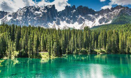 Lago Carezza: el lago del arcoiris