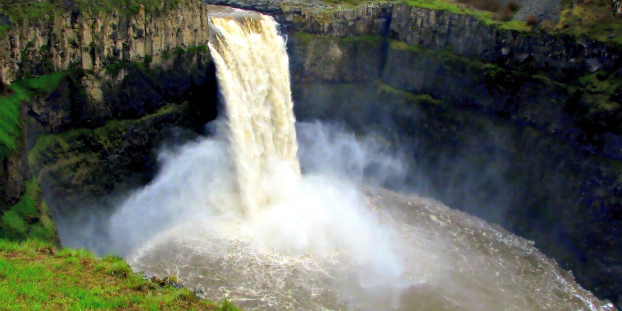Palouse Falls, un regalo hermoso de épocas prehistóricas
